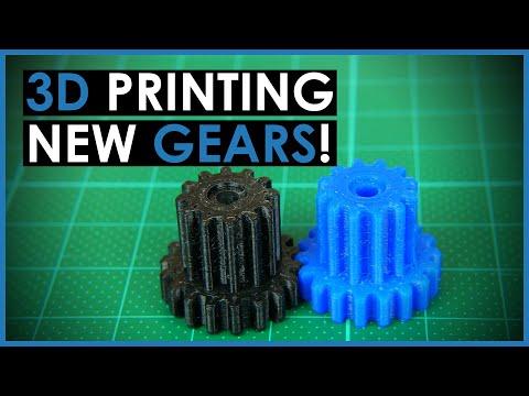 3D Printed Gear Repair with Fusion 360 - Practical 3D Printing