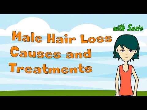 Male Hair Loss Causes and Treatments - Understanding Male Pattern Baldness and What You Can Do