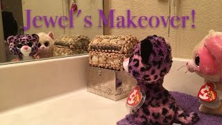 Beanie Boo's: Jewel's Makeover!