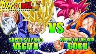 SSJ3 Vegito Vs SSG Goku | Dragon Ball What If Battle