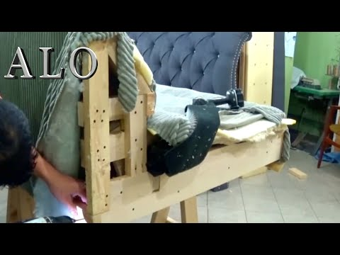 HOW TO MAKE A REMOVABLE ARM ON A SOFA - ALO Upholstery