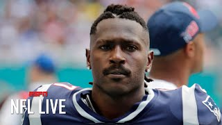 Antonio Brown suspended for 8 games by the NFL   NFL Live