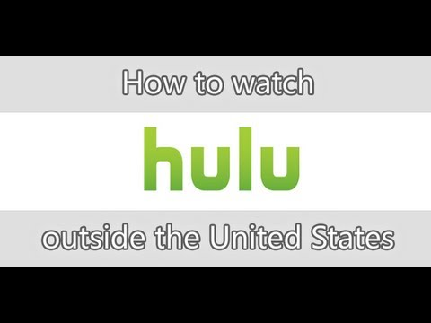 How to watch Hulu for free outside the United States!