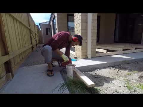 Decking over Concrete Slab- Quick DIY