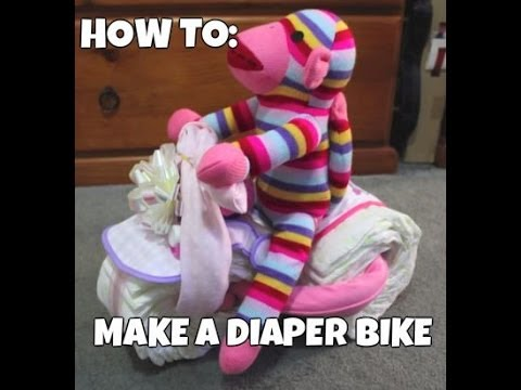 How to make a Diaper Bike - Tutorial
