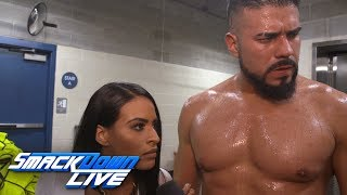 Zelina proclaims that Almas is the future of WWE: SmackDown Exclusive, July 17, 2018