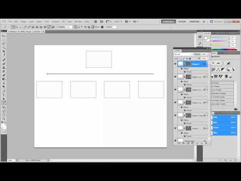 Creating a Flowchart in Photoshop