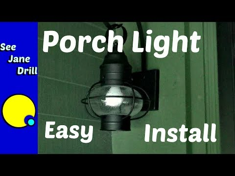 How to Replace a Porch Light Fixture for Beginners