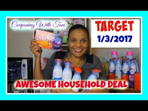 Target Couponing 1/3/17 Household Items | REALLY GREAT DEAL But FREE FOR ME