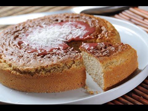 Pancake flour cake