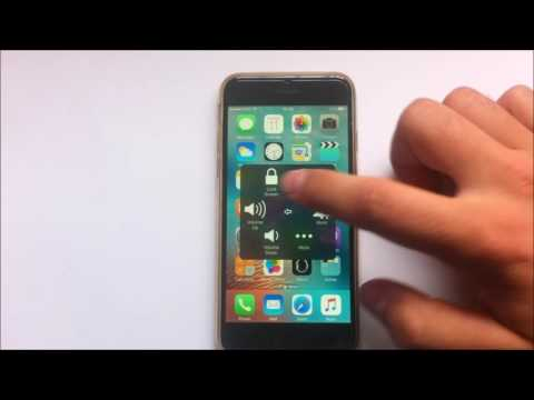 How to activate home button on screen on iPhone