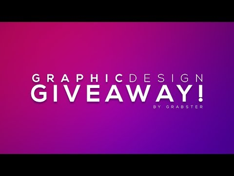 1K SUBSCRIBERS Graphic DESIGN GIVEAWAY! [ENDED]