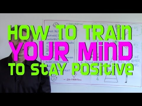 How To Train Your Mind To Be Positive (using the 4 P's)