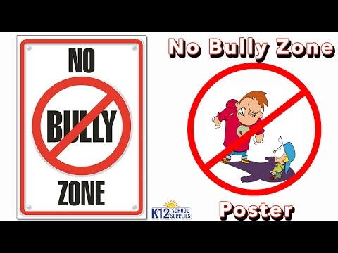 Anti Bullying Posters - Stop Bullying - Classroom Decor