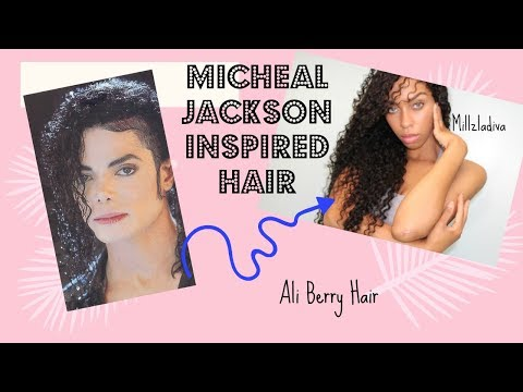 Aliexpress: Ali Berry Hair Review/ Micheal Jackson inspired hair