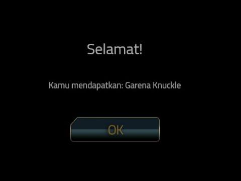 Cara Redeem Knuckle Garena Permanent Kalau Situs Error ~ Point Blank Garena Indonesia