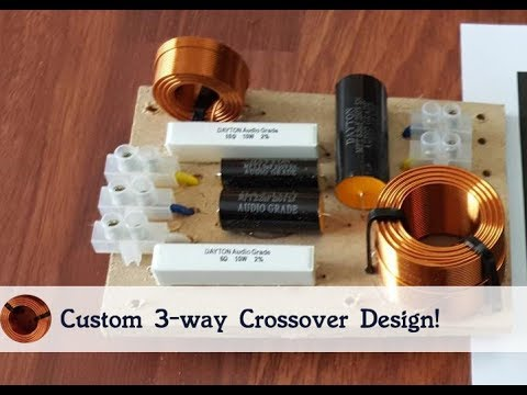 How to Design a 3 way Crossover