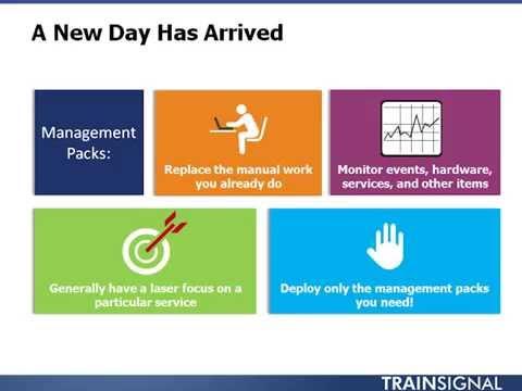 Lesson 07 Understanding Management Packs
