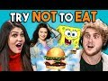 Download  Try Not To Eat Challenge - Nickelodeon Food | People Vs. Food MP3,3GP,MP4