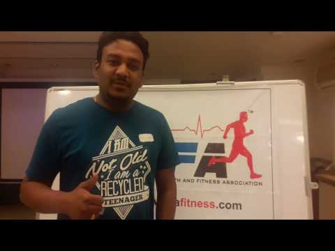 Amol Chavan at International Health and Fitness Association IHFA