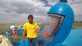 Земля ушла с под ног  Супер горка ракета  Аквапарк Одесса / Water Park Odessa Ukraine
