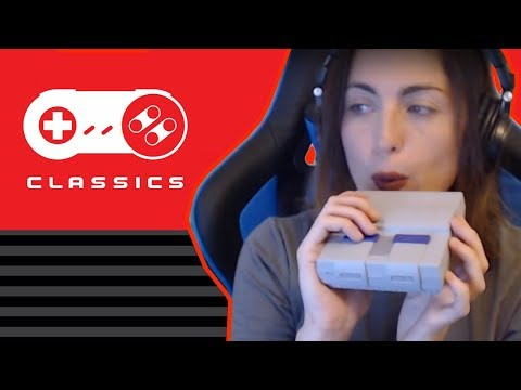 Unboxing and Playing the SNES Classic! Twitch Livestream!