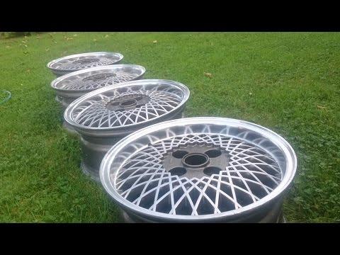 ★DIY★ - Restoring / polishing old aluminum wheels