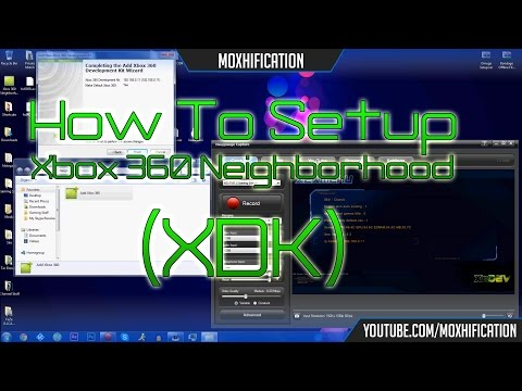 How To Setup Xbox 360 Neighborhood (XDK) | Updated | +Download [JTAG/RGH]