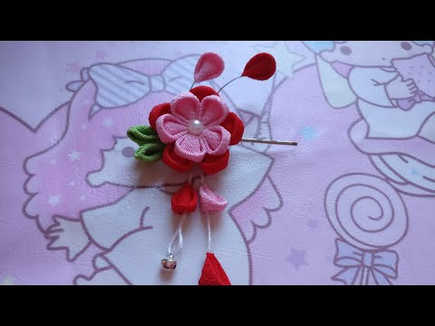 DIY Tutorial - Japanese Flowers Hair Accessories