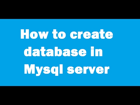 how to create database  in mysql workbench 6.3 ce