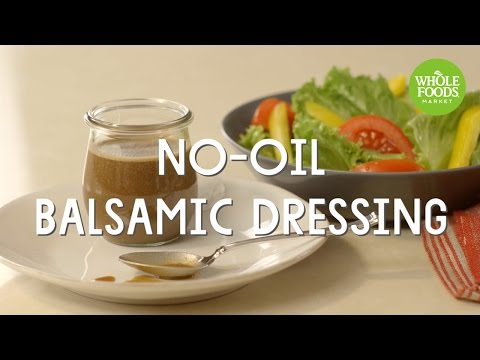 No-Oil Balsamic Dressing   Freshly Made   Whole Foods Market