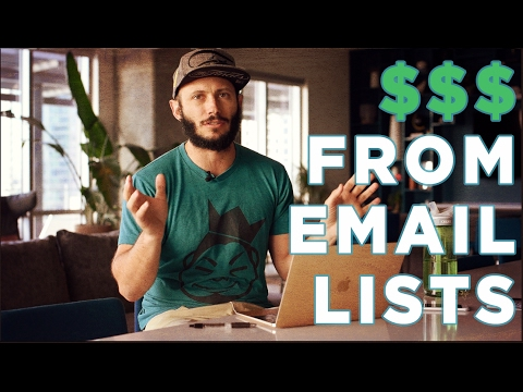 How to Make Money from Your Email Marketing List