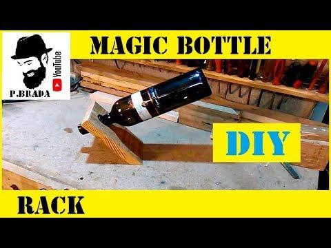 Magic bottle rack By Paolo Brada DIY