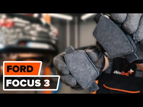 How to change a rear brake pads FORD FOCUS 3 TUTORIAL | AUTODOC