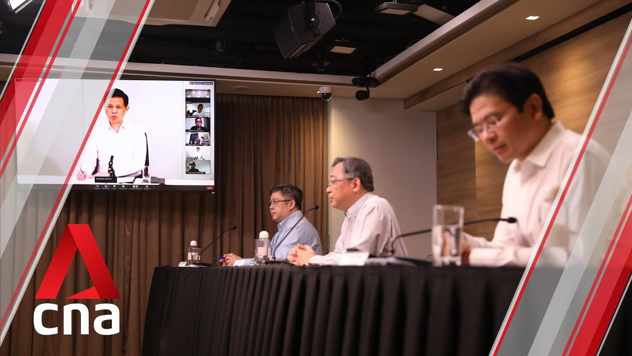 COVID-19: Singapore outlines 3 phases for safe reopening after circuit breaker   Full presser