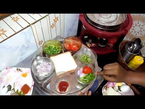 காலை உணவு வேண்டாம் னு சொல்ற பசங்களுக்கு இந்த மாதிரி செனவிச் செஞ்சு குடுங்க|Cheese Omelette Sandwich