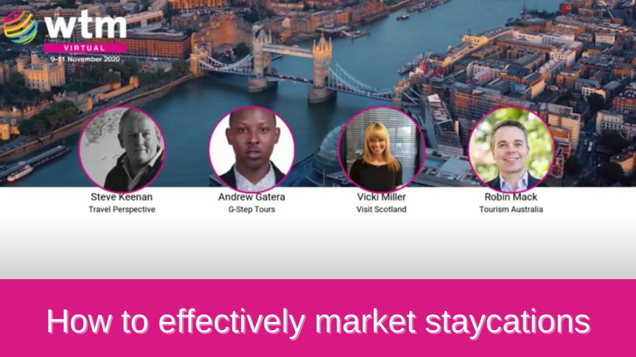 How to effectively market staycations