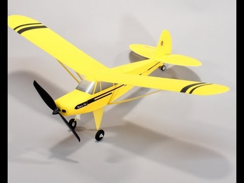 Flyzone Micro Super Cub RC Plane Review and Flight