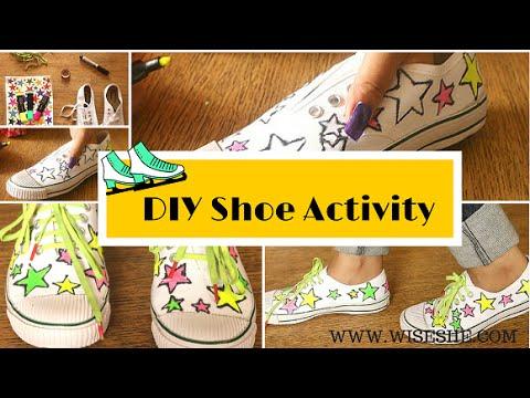 DIY Shoe Idea|Sneakers DIY|DIY Sneaker Idea|Sneaker Makeover