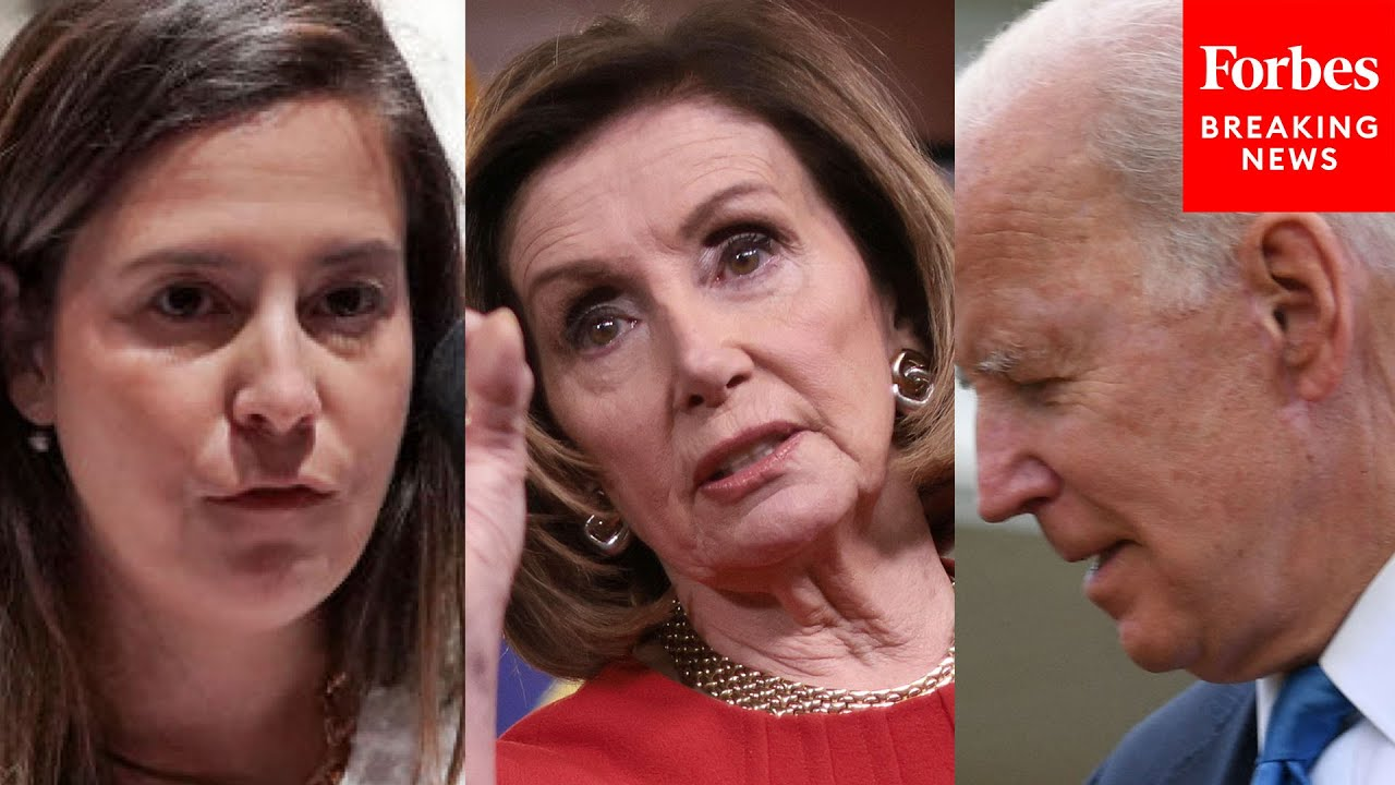 JUST IN: Elise Stefanik Rips Biden And Pelosi In First Remarks Since Replacing Liz Cheney