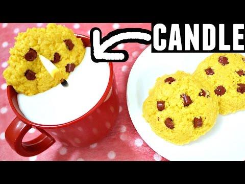 Easy DIY Christmas Gifts | Milk & Cookies Candles