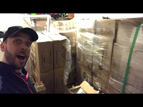 LL Bean Pallets Unboxing! First Bulk Buy to Resell on eBay - scaling your business.