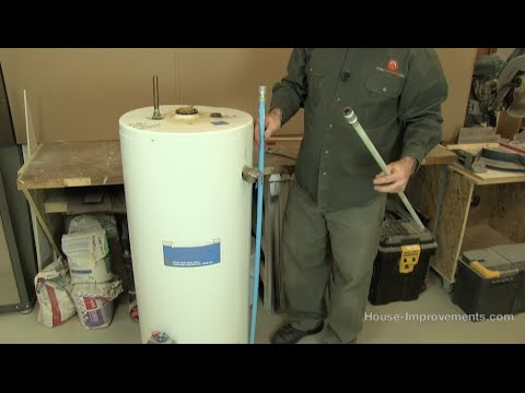 How To Replace A Water Heater Dip Tube