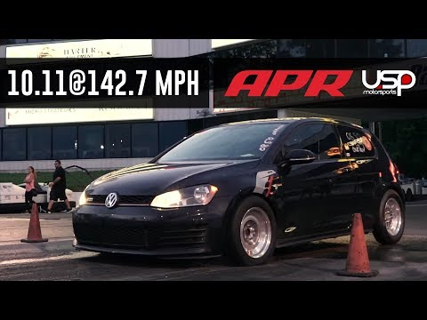 USP + APR Shatter MK7 GTI World Record @ Waterfest 23 // USP Motorsports