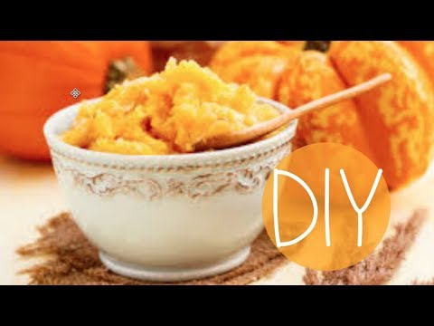 DIY Pumpkin Mask for Clear & Youthful Skin!