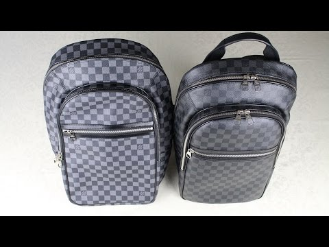 How To Spot a Fake Louis Vuitton Backpack REAL vs FAKE