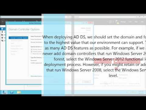 Active Directory ( AD DS ) : How to install on Windows Server 2012