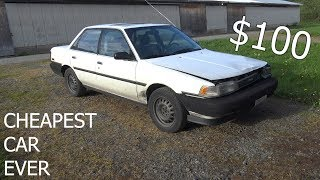 Bought The Cheapest Car Ever