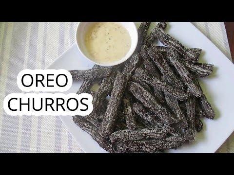 Homemade Oreo Churros Recipe I How To Make Oreo Churros