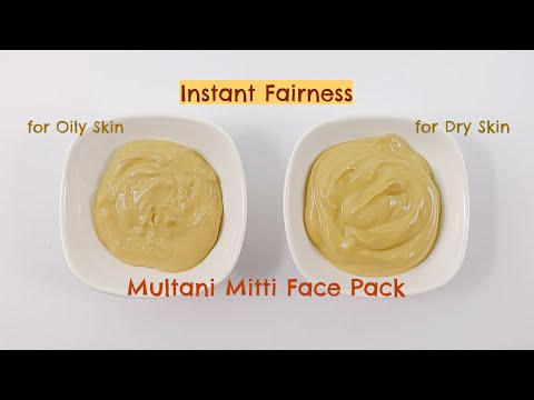 Multani Mitti Face Pack for Instant Fairness and Crystal Clear Skin | Instant Fairness Home Remedies